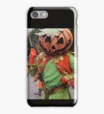 Pumpkin mask iPhone Case/Skin