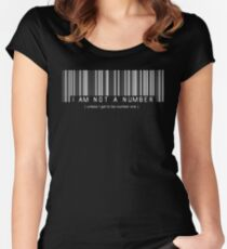 not a number, unless.. Women's Fitted Scoop T-Shirt