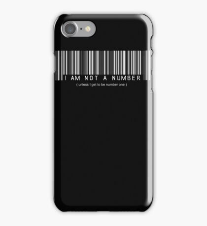 not a number, unless.. iPhone Case/Skin