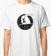 Yippee Ki Yay - with speech bubble Classic T-Shirt