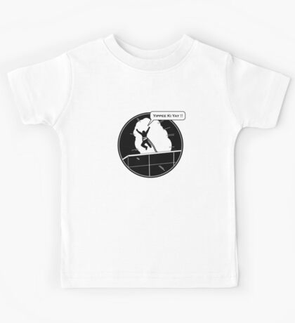 Yippee Ki Yay - with speech bubble Kids Clothes