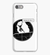 Yippee Ki Yay - with speech bubble iPhone Case/Skin