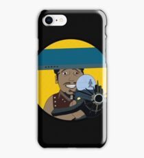 Z-140 (Alleviated titanium. Neurocharged assault model) iPhone Case/Skin