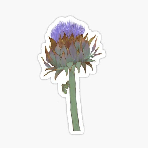 Artichoke Thistle in Bloom Sticker
