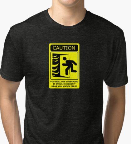 Cthulu's Bedroom Tri-blend T-Shirt