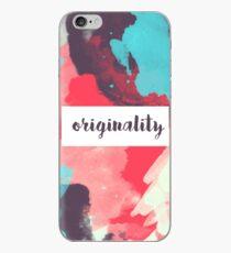 Vinilo o funda para iPhone Originalidad