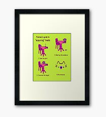 pussies adventure Framed Print