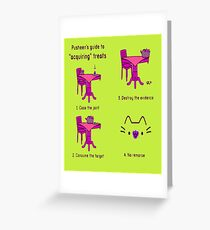 pussies adventure Greeting Card