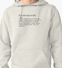 Homeopathy Pullover Hoodie