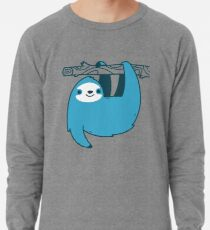 Sloth on a Branch Lightweight Sweatshirt