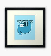 Sloth on a Branch Framed Print