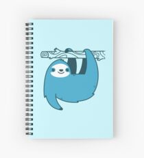 Sloth on a Branch Spiral Notebook