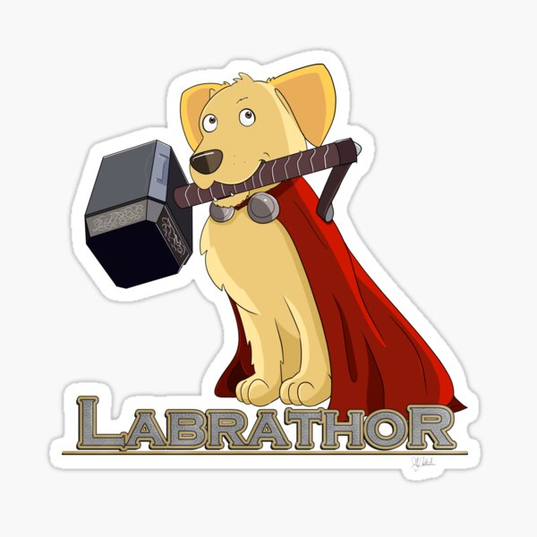 Labrathor Sticker