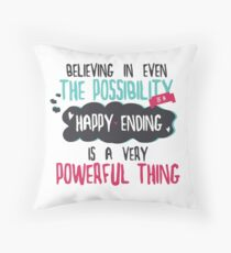 """believing in even the possibility of a happy ending is a very powerful thing"" / Once Upon A Time Dekokissen"