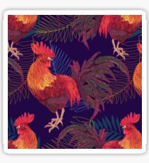 red rooster Sticker
