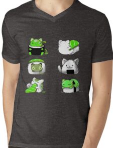 pussies adventure Mens V-Neck T-Shirt