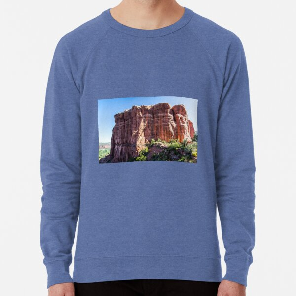 Cathedral Rock from the Saddle Area Lightweight Sweatshirt