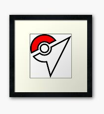 Pokemon Symbol Framed Print