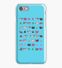 pussies adventure iPhone Case/Skin
