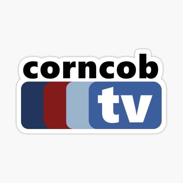 corncob tv - i think you should leave with tim robinson inspired Sticker