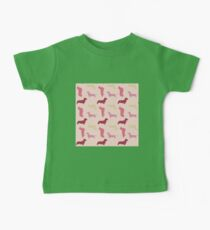 """Cotton Candy"" Dachshund Pattern Kids Clothes"