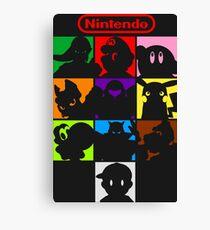 I'm a Nintendo Fan Canvas Print