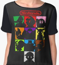 I'm a Nintendo Fan Women's Chiffon Top