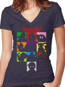 I'm a Nintendo Fan Women's Fitted V-Neck T-Shirt