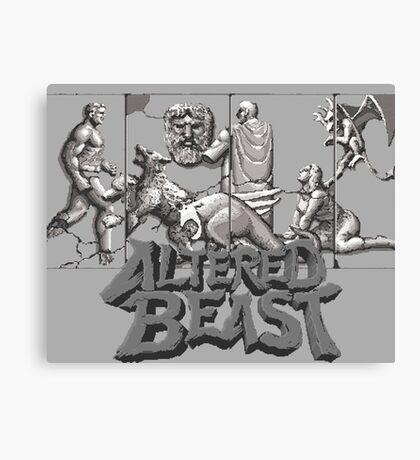 ALTERED BEAST - SEGA ARCADE (2) Canvas Print