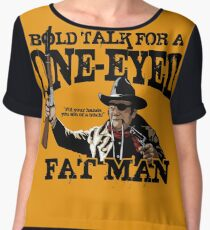 """One Eyed Fat Man"" Chiffon Top"