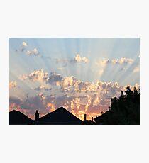 SkyFire2 Photographic Print