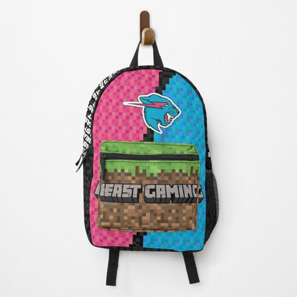 Mr. Beast /. Mr Blue Lion Beast (Gaming Premium Collection) - Useless Madala Backpack