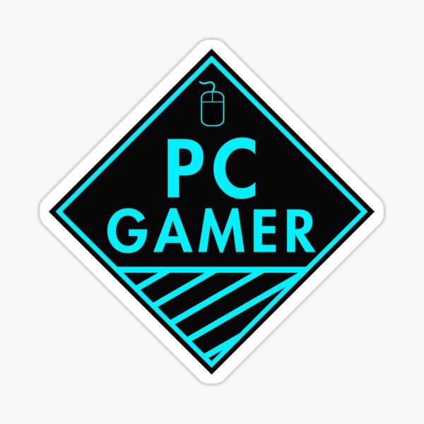 Juego de PC (azul) Pegatina
