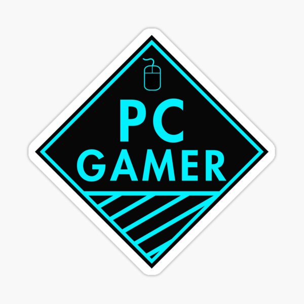 Pc Gaming (Blue) Sticker
