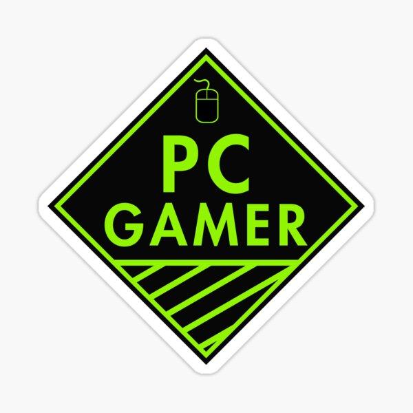 Pc Gaming (Green) Sticker