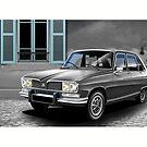 Poster artwork - Renault 16 by RJWautographics