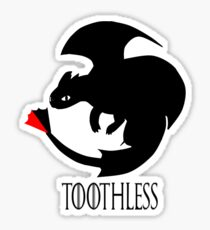 Toothless / Game of Thrones Sticker