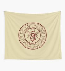 Save The Bees Wall Tapestry
