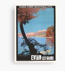 Evian Les Bain - Ezra Canvas Print