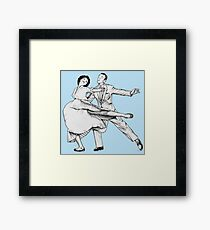 "Mr. Alford ""Dancers"" Framed Print"