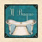 Italianate Tub 1 by Debbie DeWitt