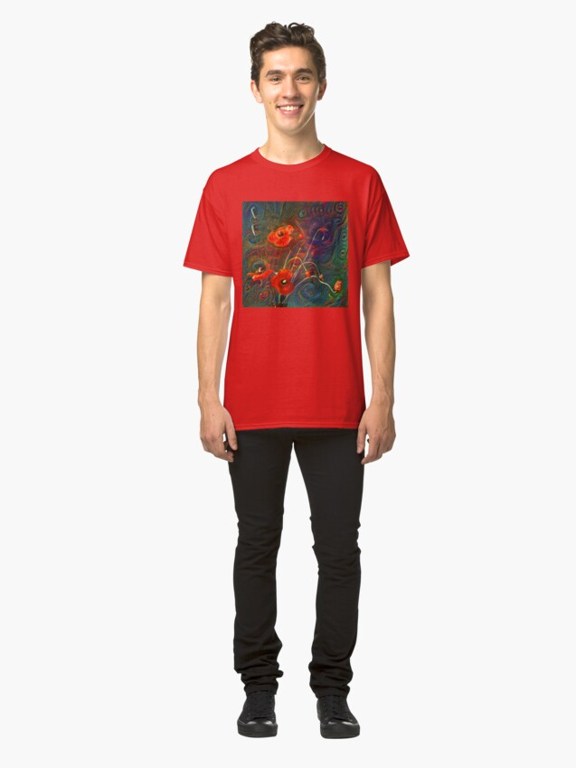 Alternate view of Poppies Classic T-Shirt