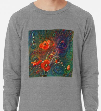 Poppies Lightweight Sweatshirt