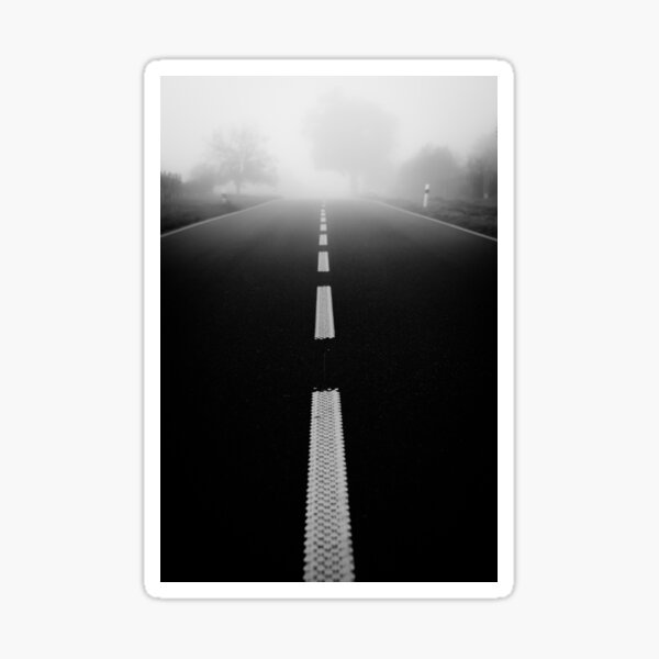 Road to nowhere Sticker