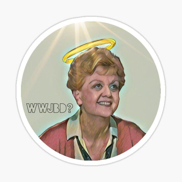 WWJBD? Sticker