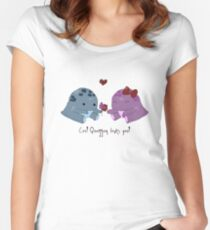 Quaggan loves you! Women's Fitted Scoop T-Shirt