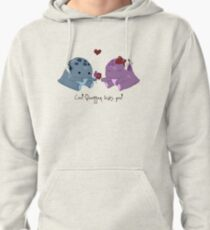 Quaggan loves you! Pullover Hoodie