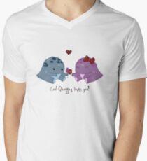 Quaggan loves you! Men's V-Neck T-Shirt