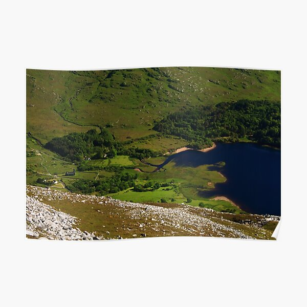 Dunlewy From Errigal Poster