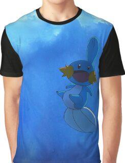 Happy Mudkip Graphic T-Shirt